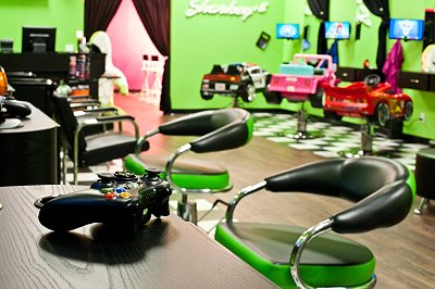 Sharkey's Cuts for Kids in Oklahoma City's Chatenay Square